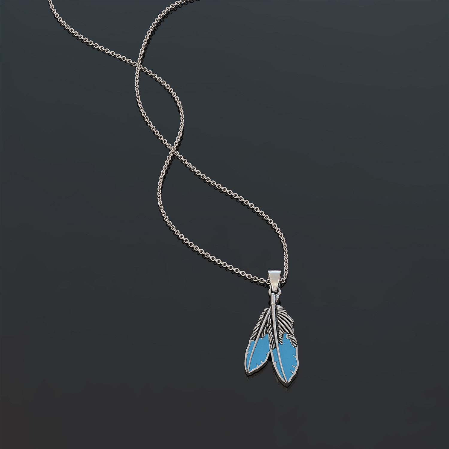 Feather Native American Necklace