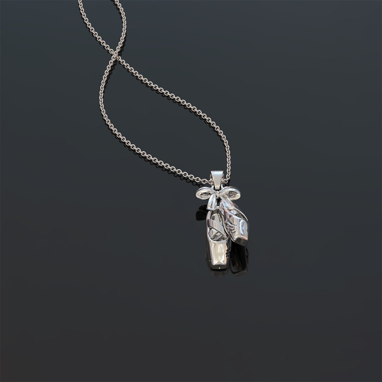 Ballet En Pointe Necklace