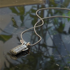Golf Bag Pendant and Necklace