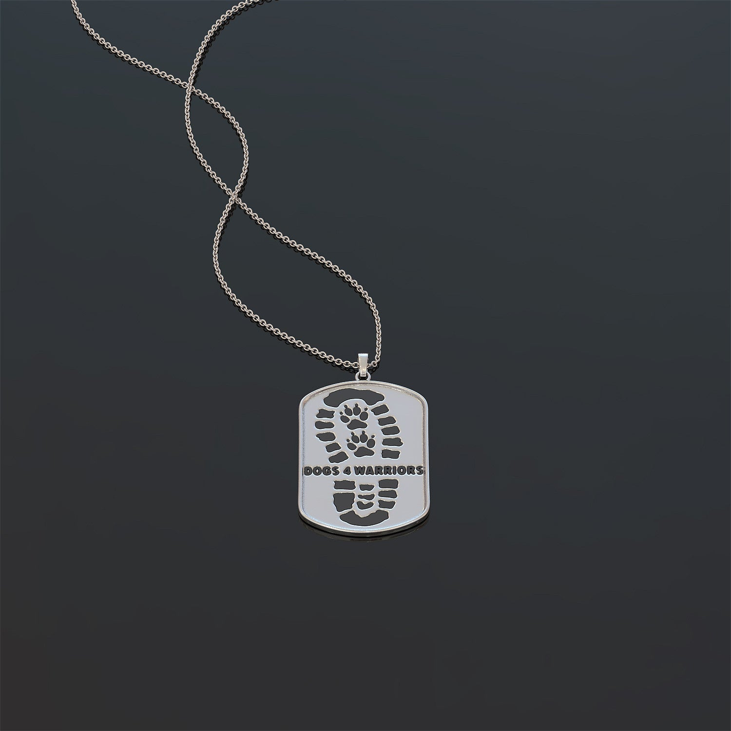 Dogs 4 Warriors Necklace