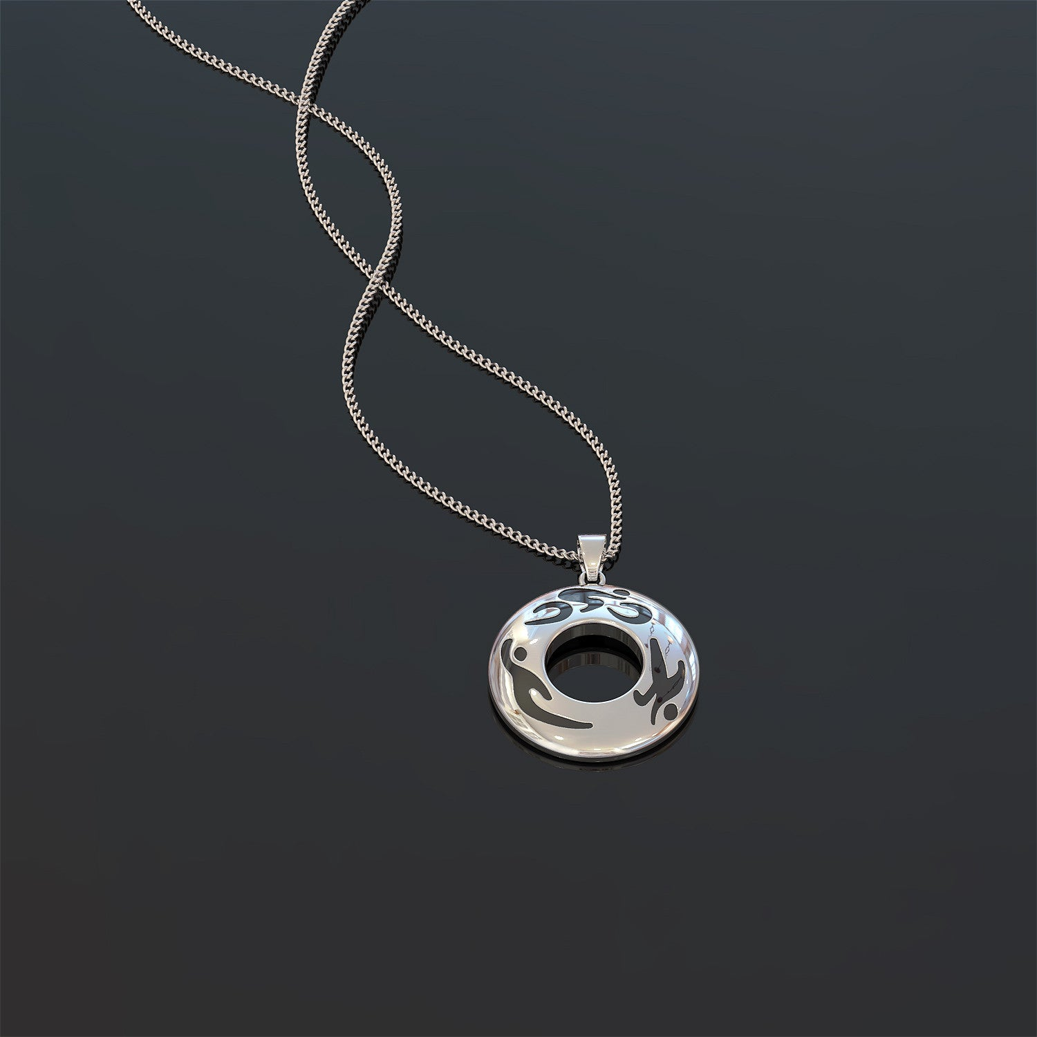 Swim, Bike, Run Necklace - LIMITED EDITION
