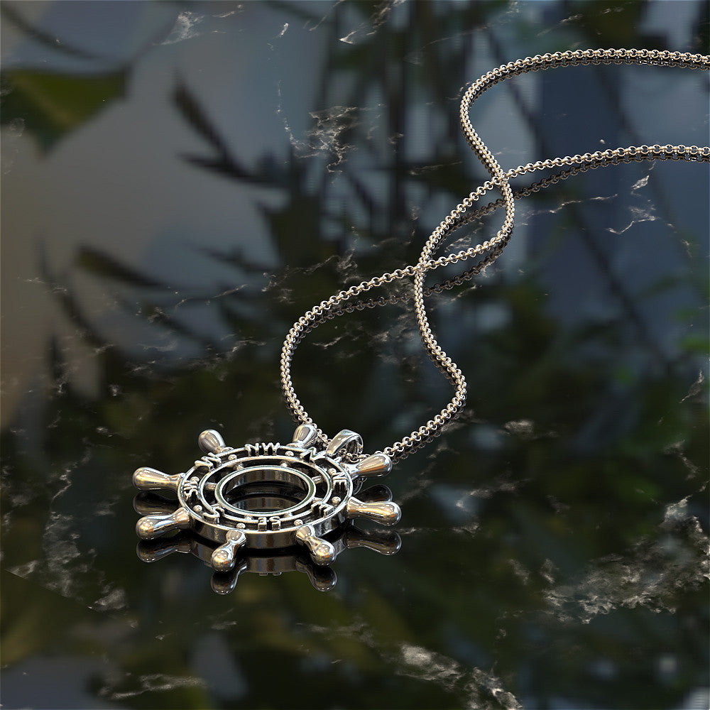 Ships Wheel Necklace - LIMITED EDITION
