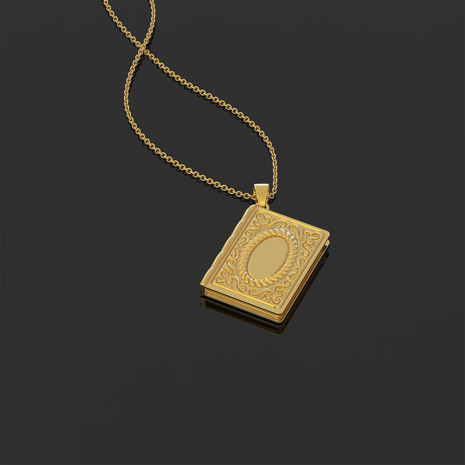 For Book Lovers Necklace