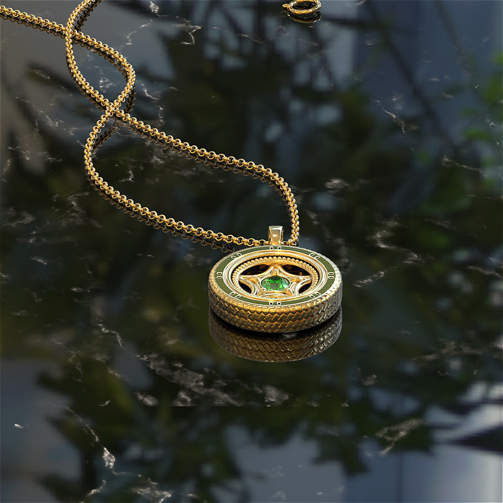 Tire Necklace