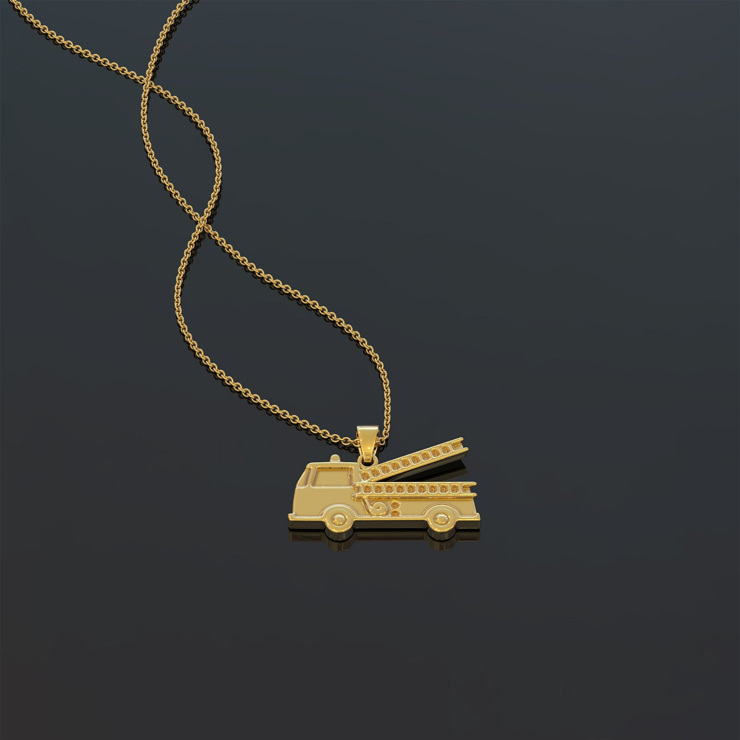 Fire Fighters Family Necklace