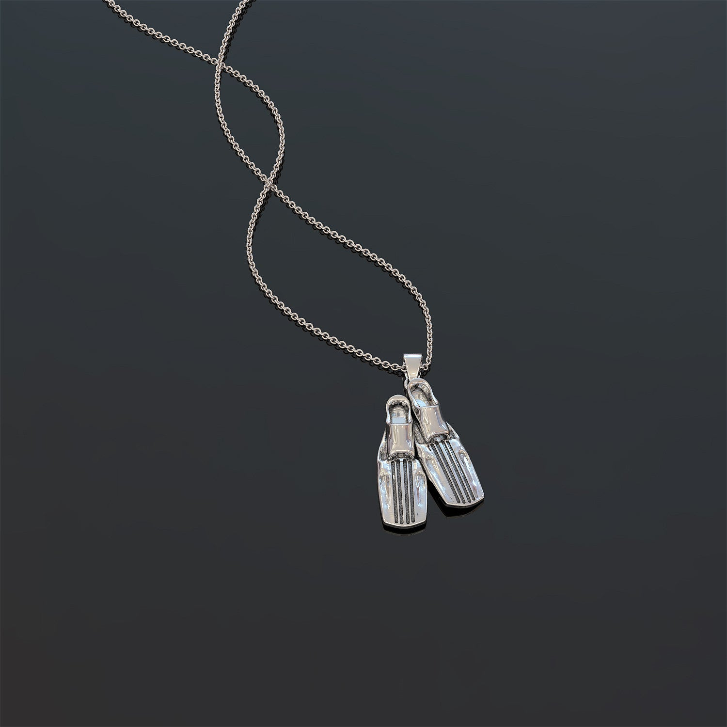 Scuba Design Necklace