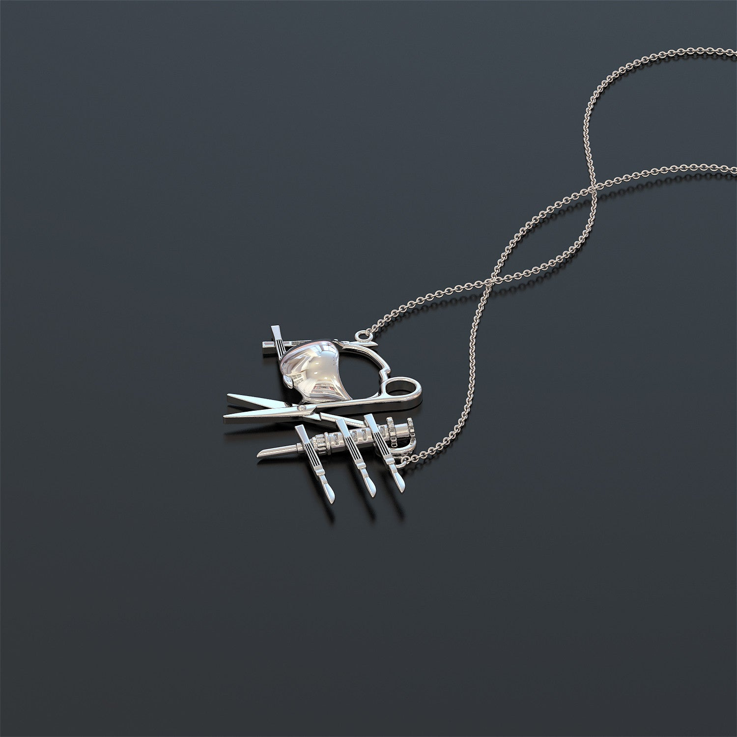 Limited Edition - Surgical Tech Necklace - LOVE