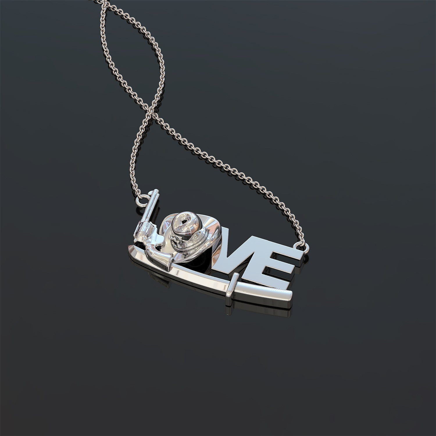 TWD Love Necklace