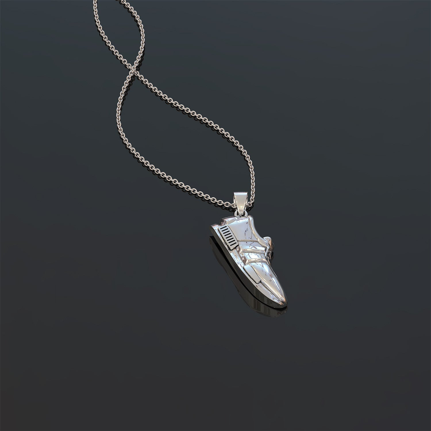 Sneaker Necklace