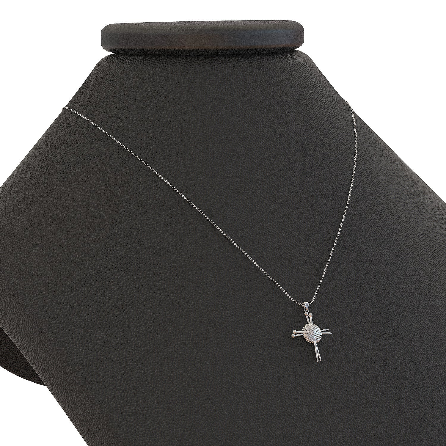 Knitting Cross Necklace - STRICTLY LIMITED EDITION