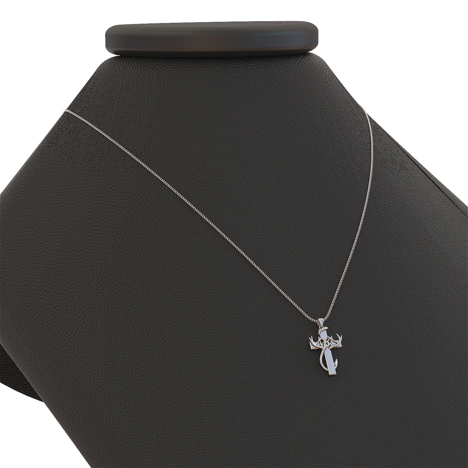 faith pendant shineon hunting dimensions products and necklace fishing cross