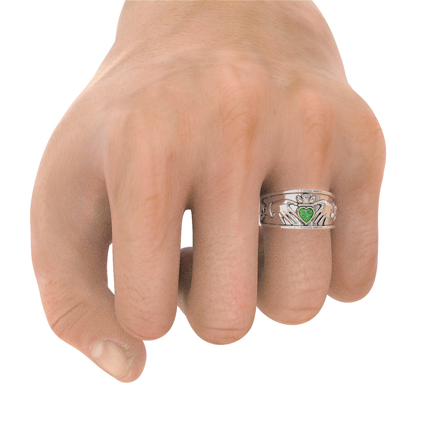 Mens Irish Claddagh Ring - STRICTLY LIMITED EDITION