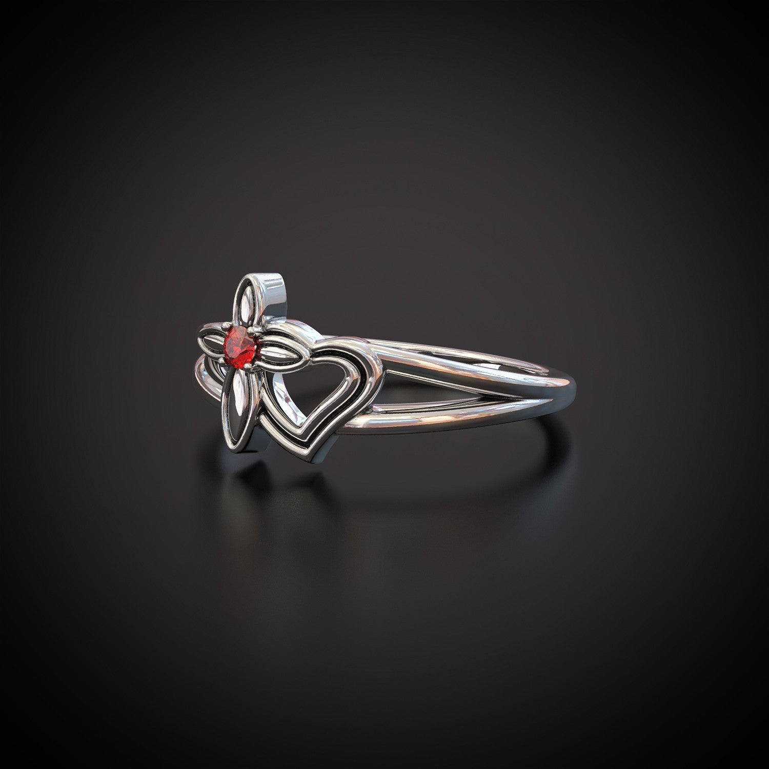 Faith and Love Ring