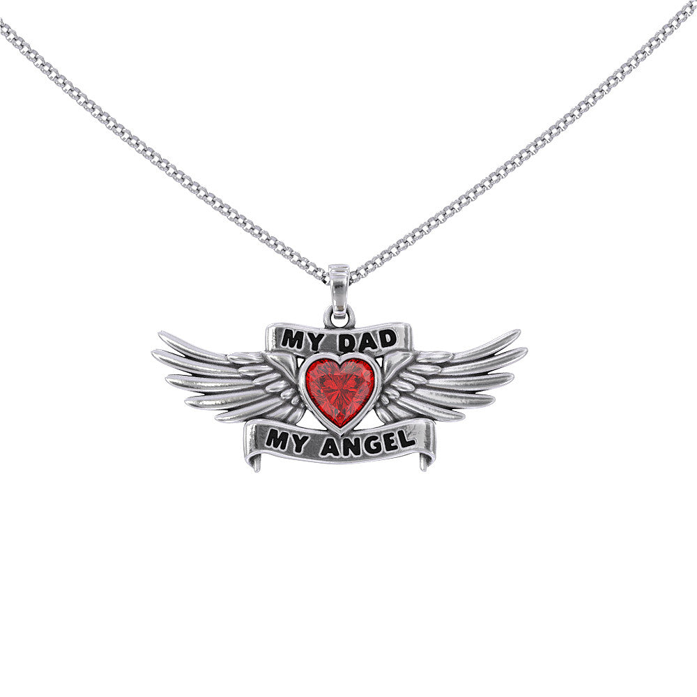 My Dad My Angel Necklace