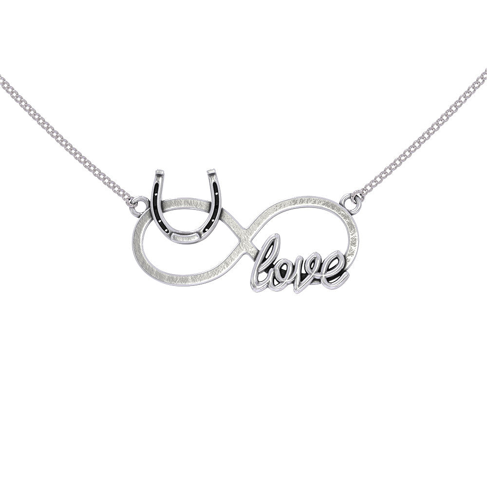 Infinity Horse Love Necklace
