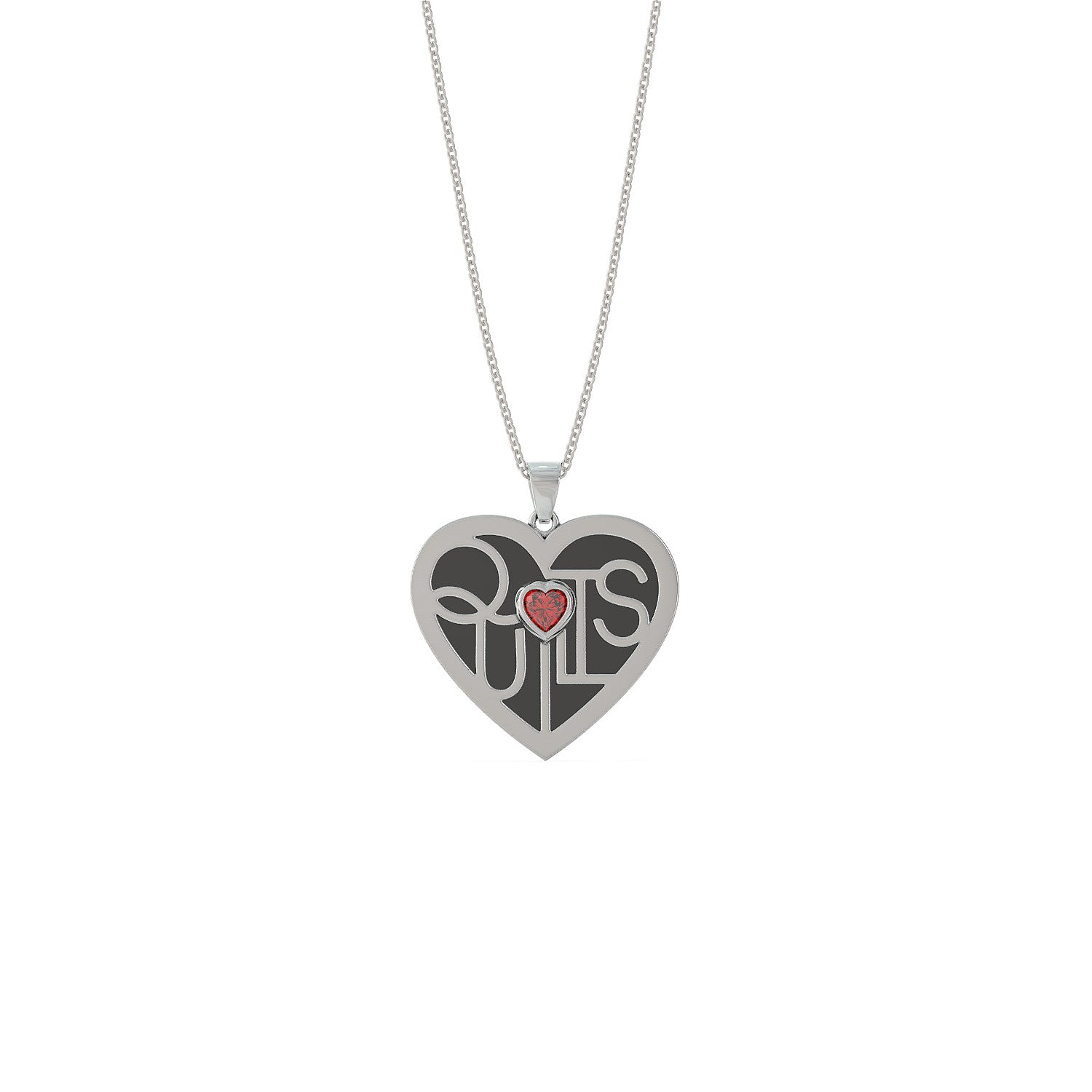 Quilt Lover's Heart Necklace