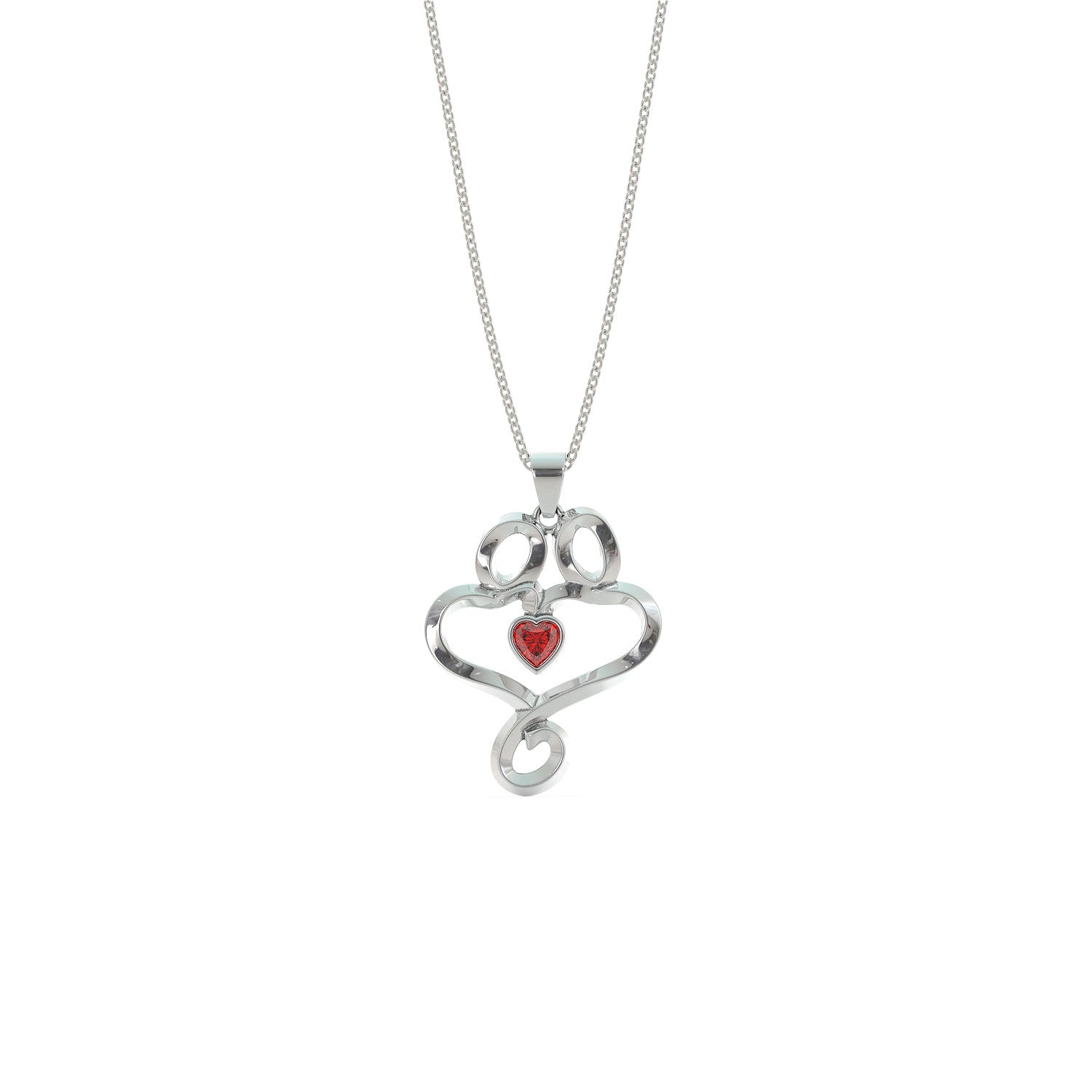Soulmates in Love Necklace