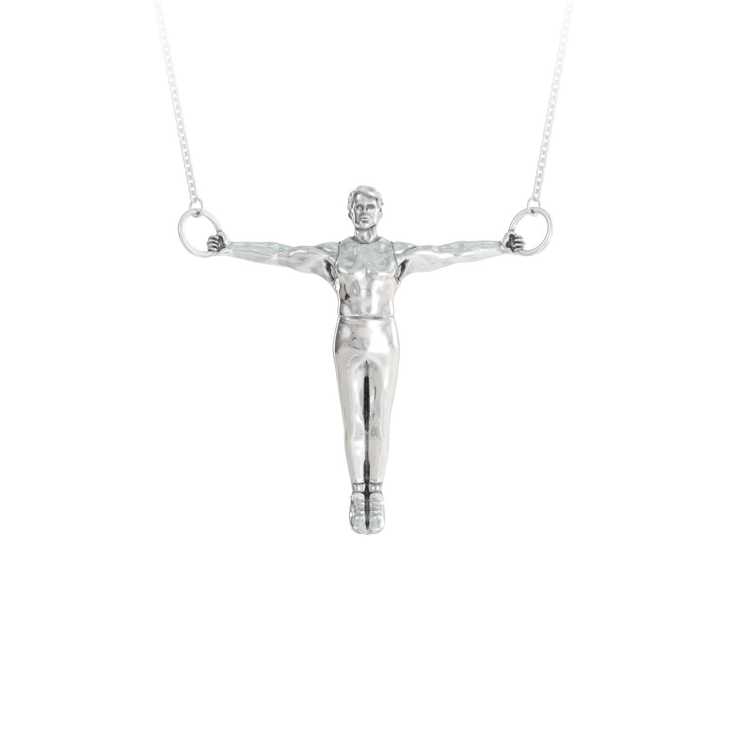 Iron Cross Pendant Necklace - LIMITED EDITION