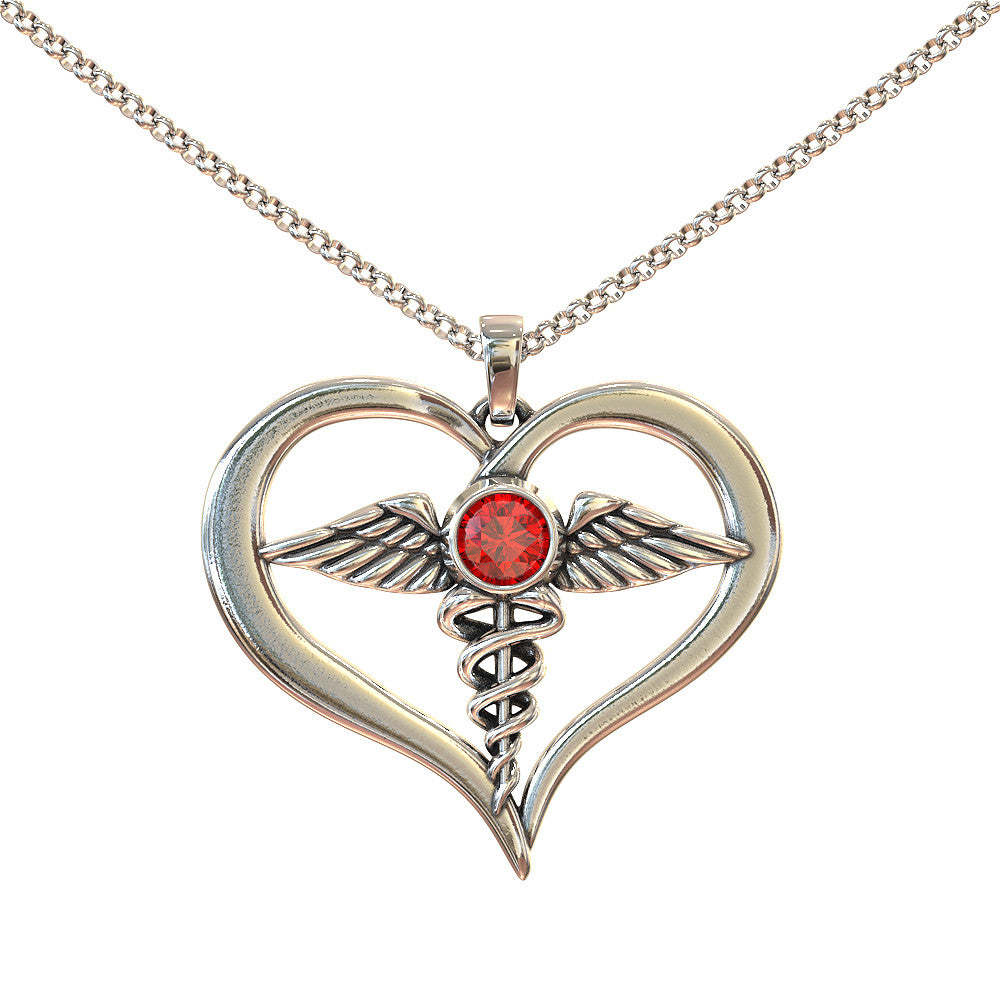 The Nurses Heart Necklace