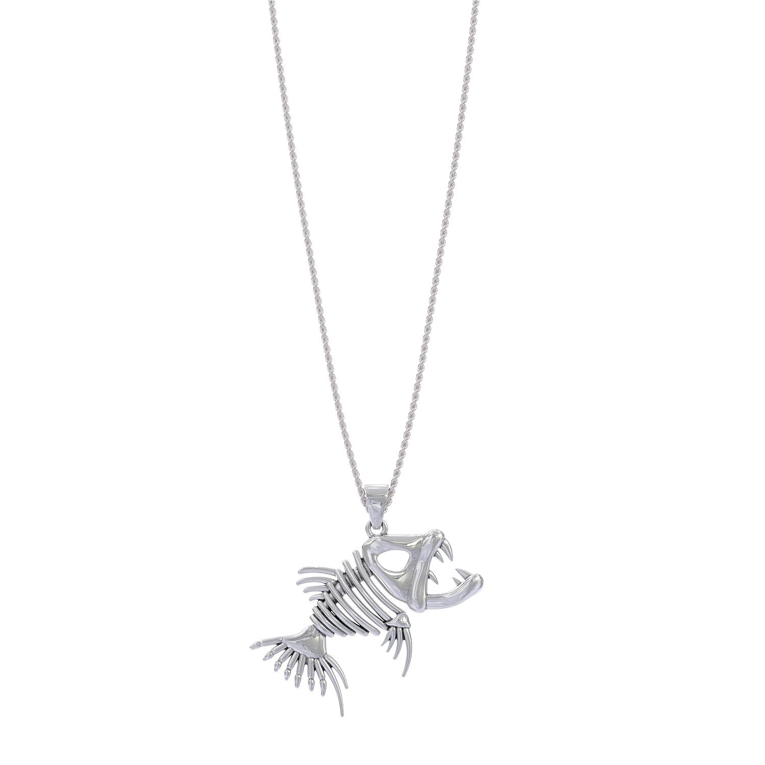 Fish Bone Necklace