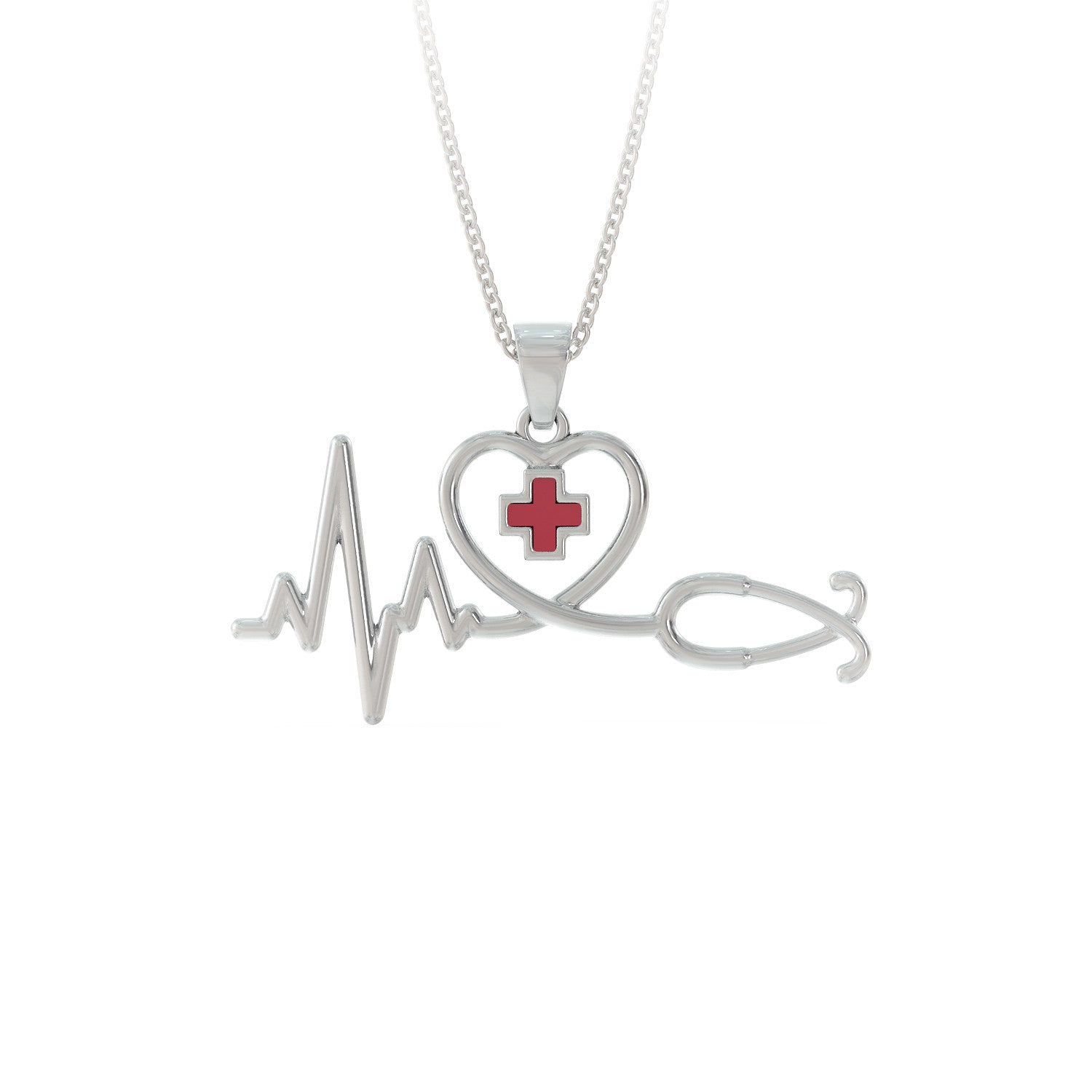 Nurse Heart Necklace