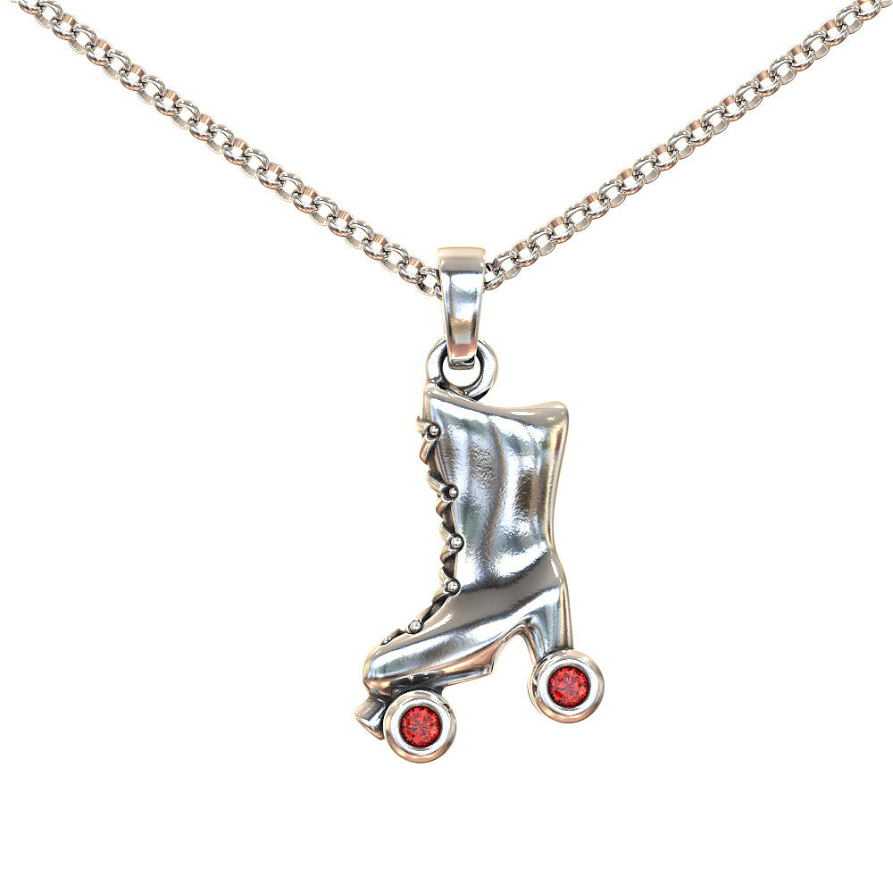 Retro Roller Derby Team Necklace - Strictly Limited Edition