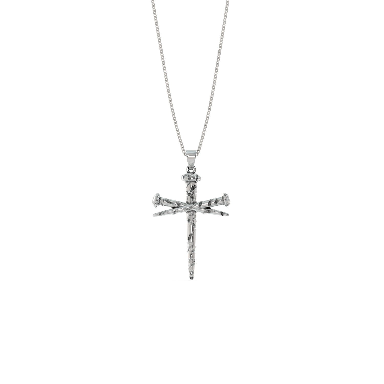 Nail Cross Necklace – ShineOn