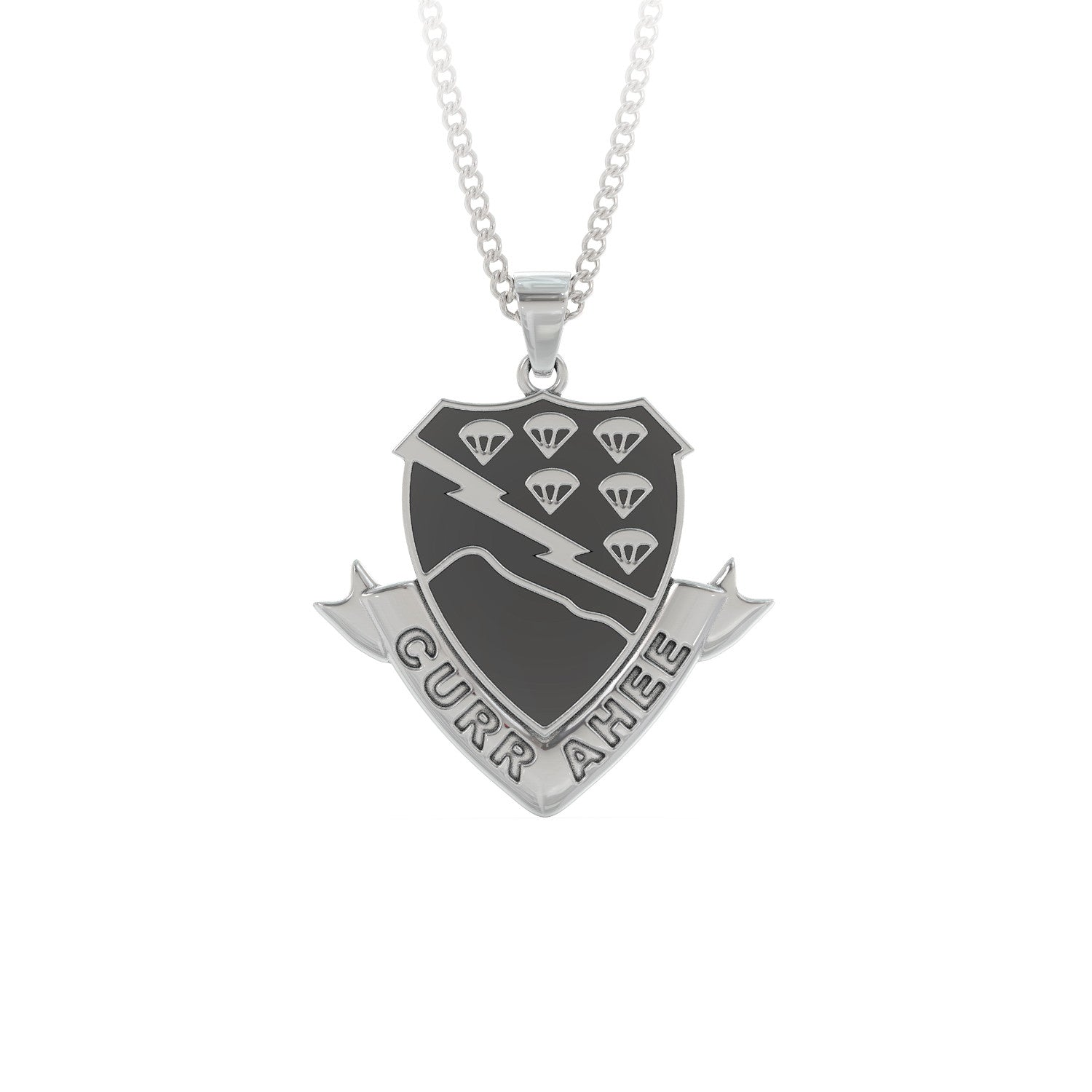 506th Infantry Regiment (Red Currahee) Pendant