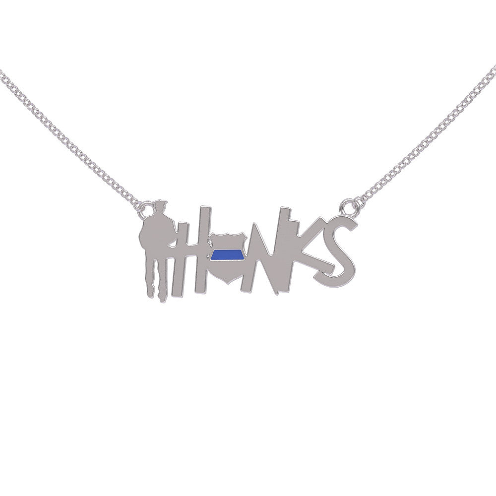 Police: THANKS Necklace