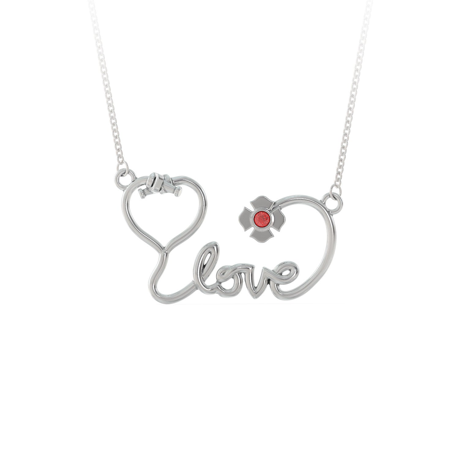 Love Firefighter Necklace