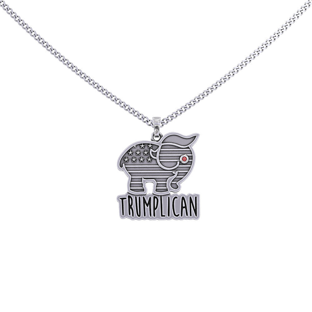 Trumplican Birthstone Necklace