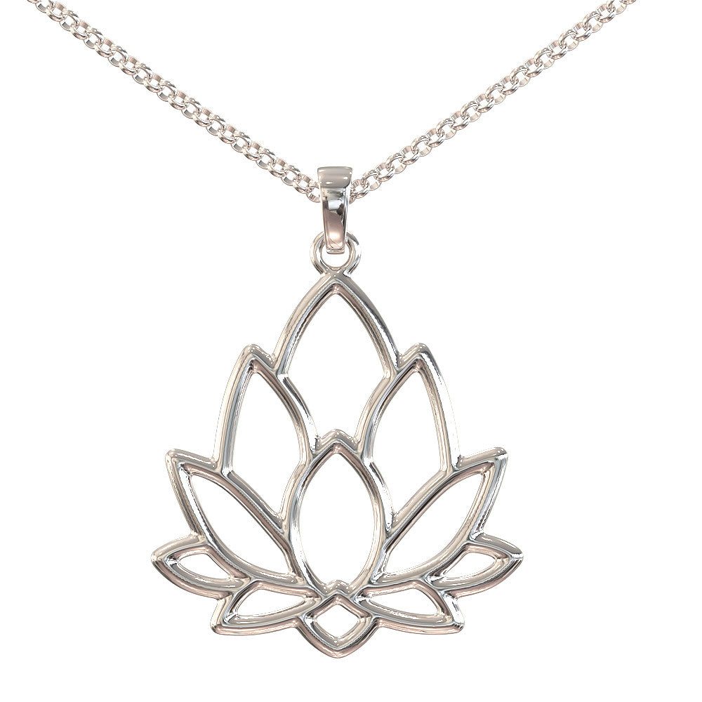 Lotus Flower Pendant