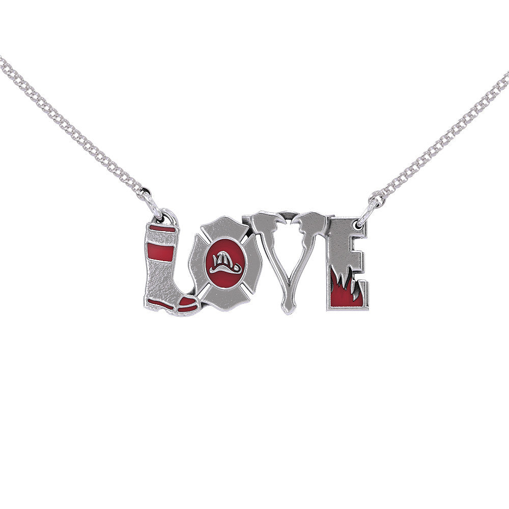 FIRE Love Necklace