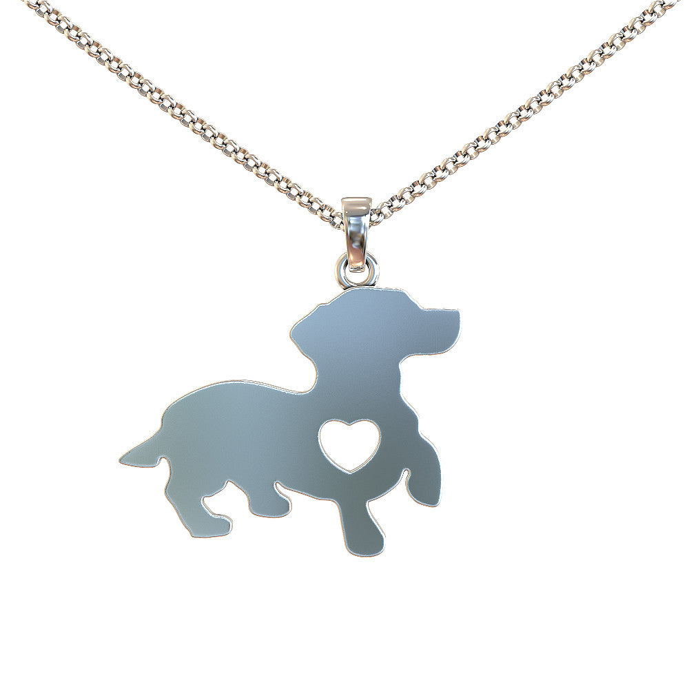Dachshund Necklace - Strictly limited edition