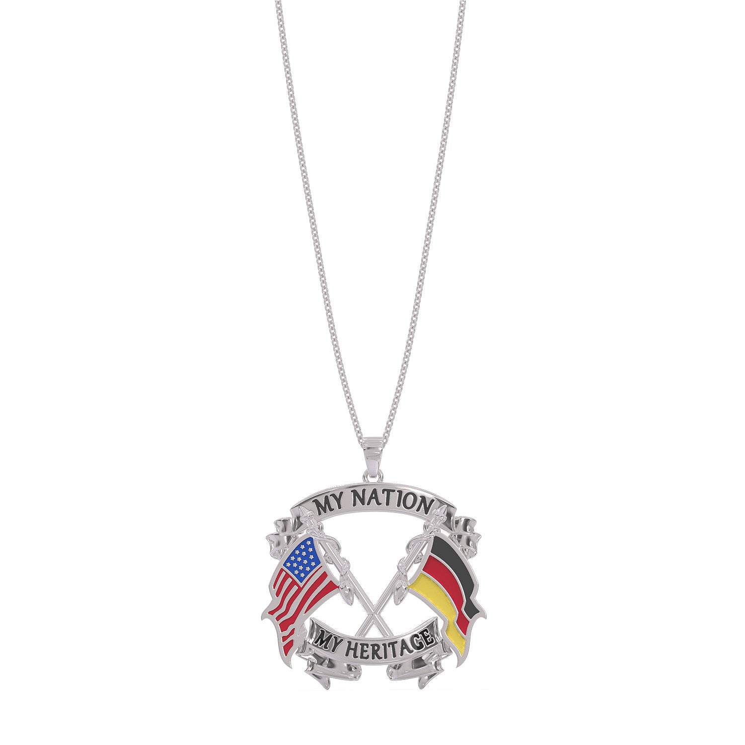 My Nation My Heritage German Necklace