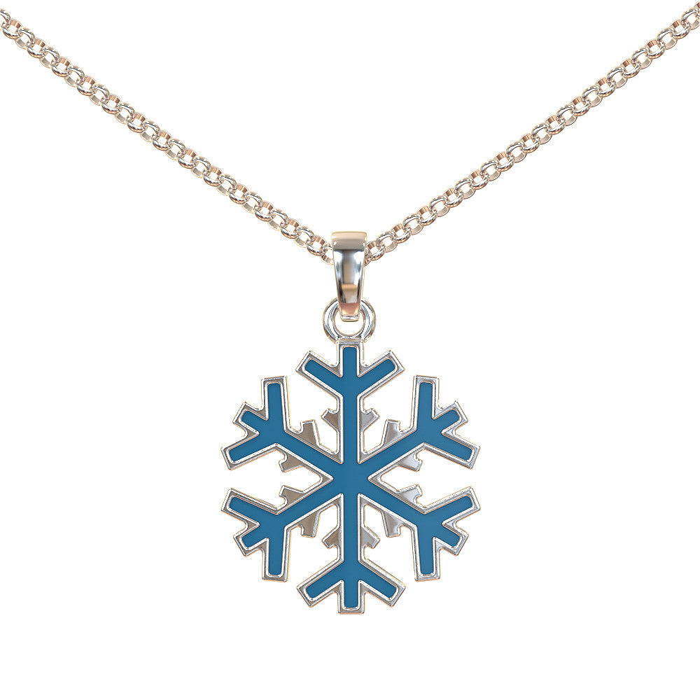 Blue Blizzard Pendant