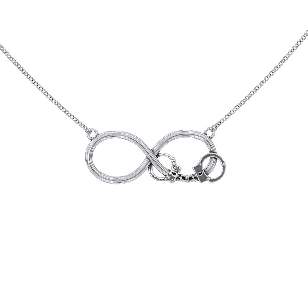 com necklace fan sign silver link infinity jewelry lovatic tone pendant dp chain amazon