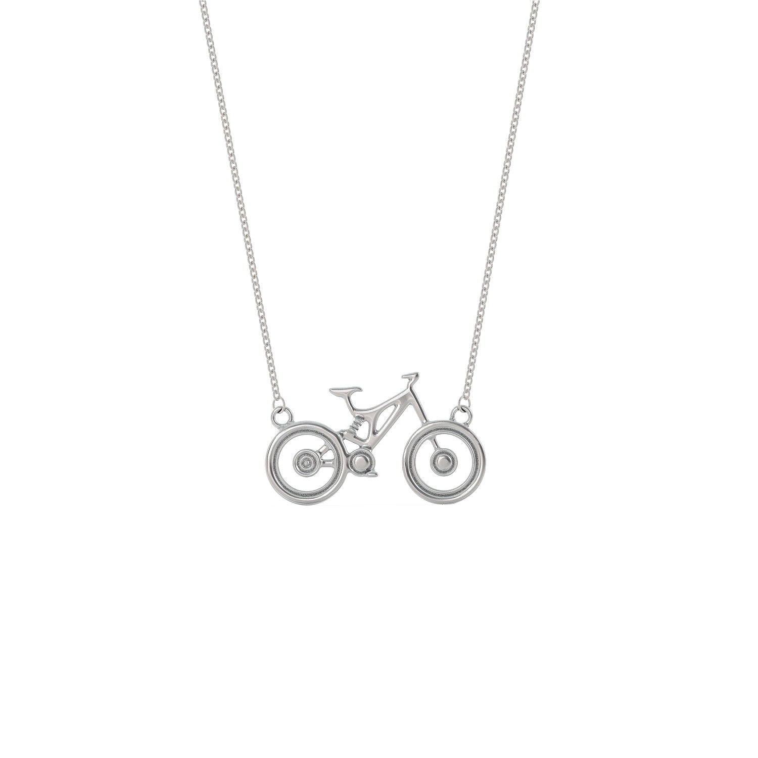 Mountain Biking Necklace