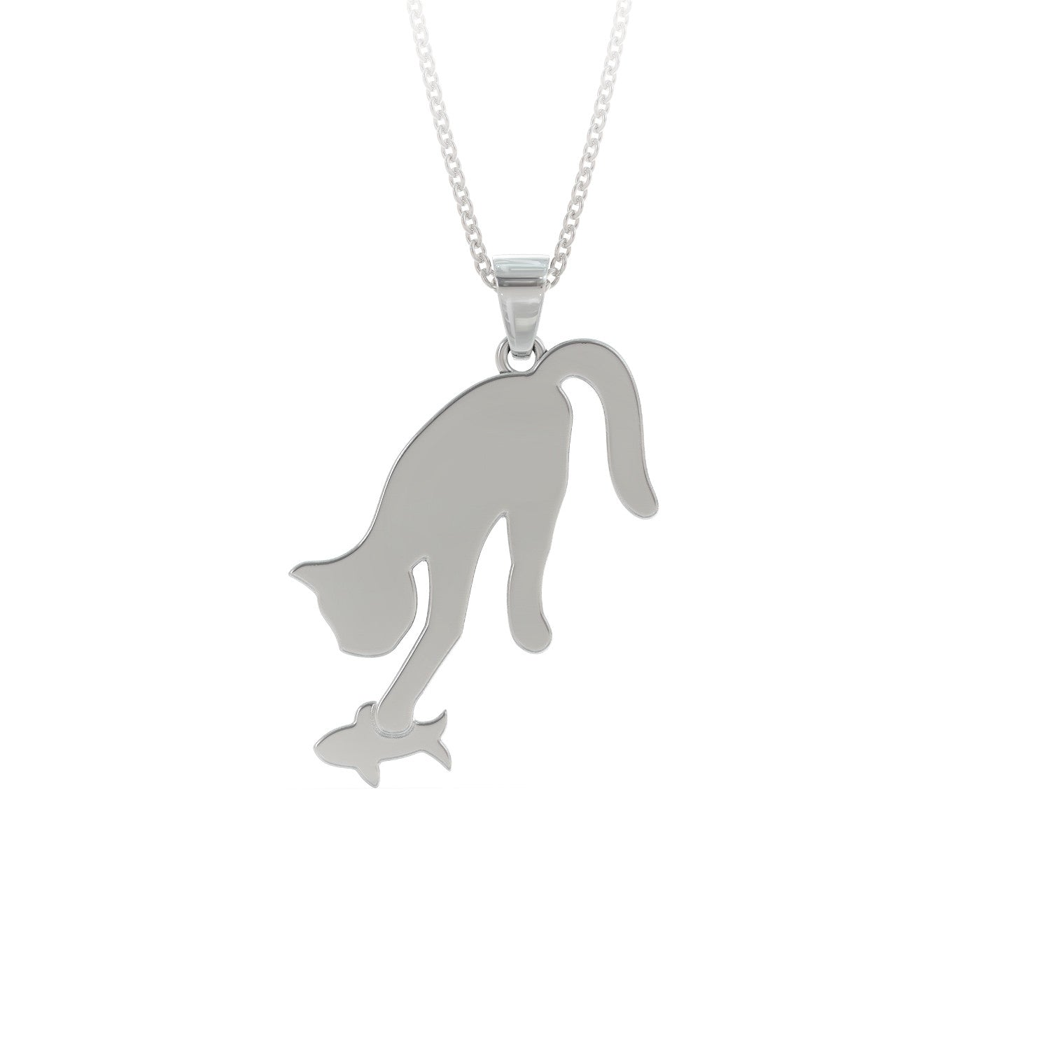 Fishing Cat Necklace