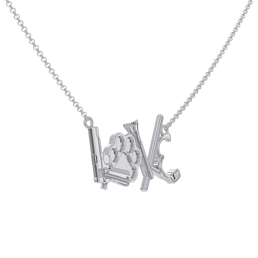 Love Police K9 Necklace