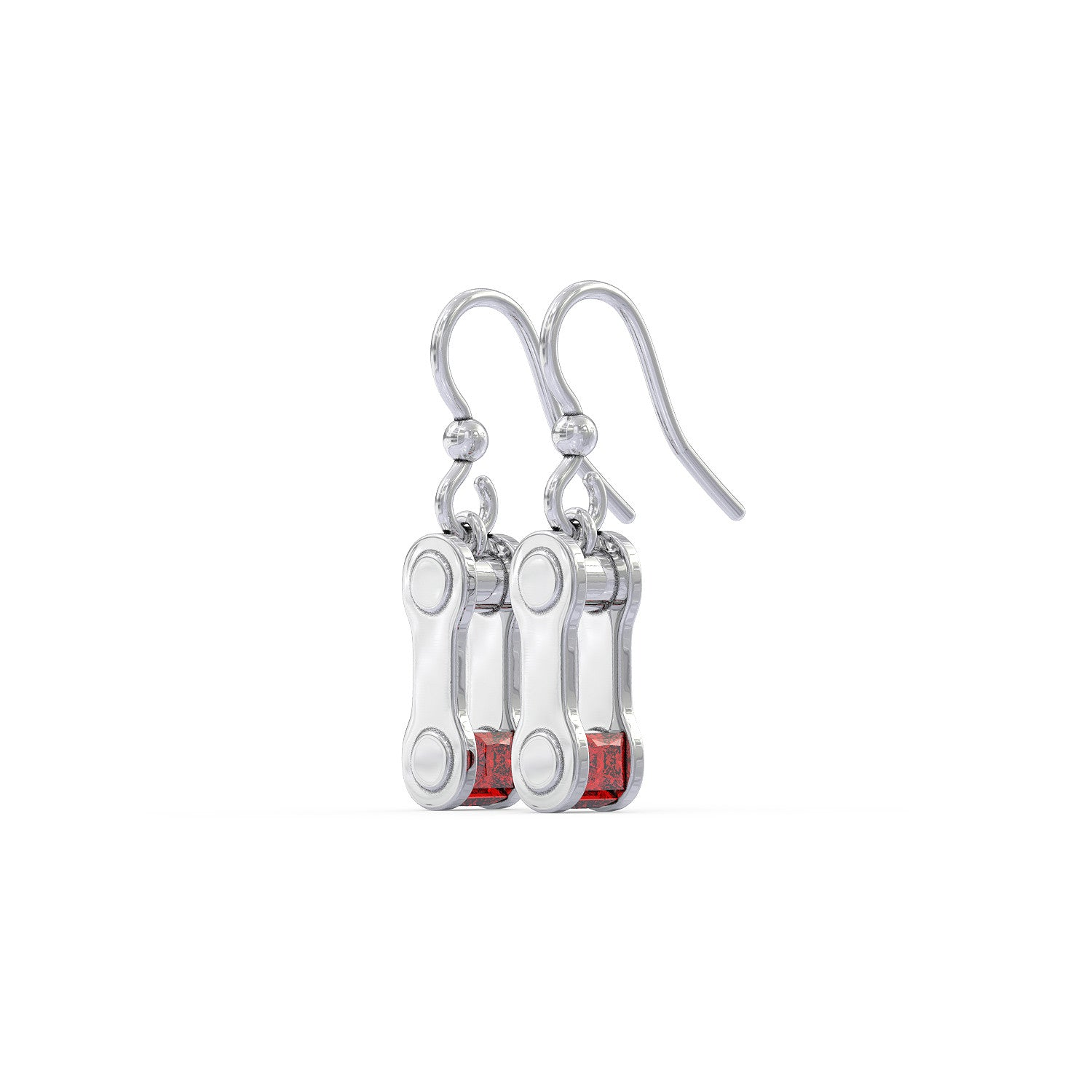 Chain Earrings w/ Birthstone - LIMITED EDITION