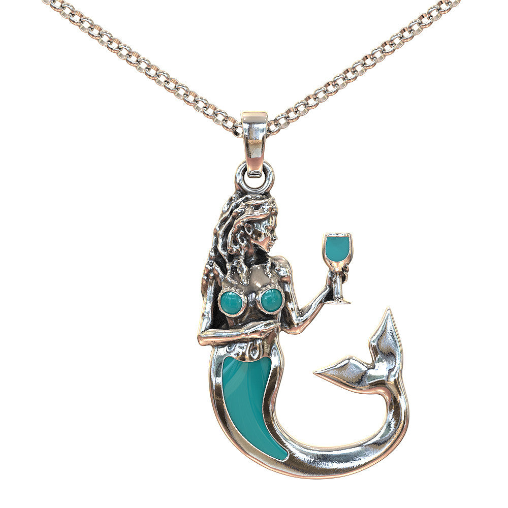 Drink Like a Fish Pendant