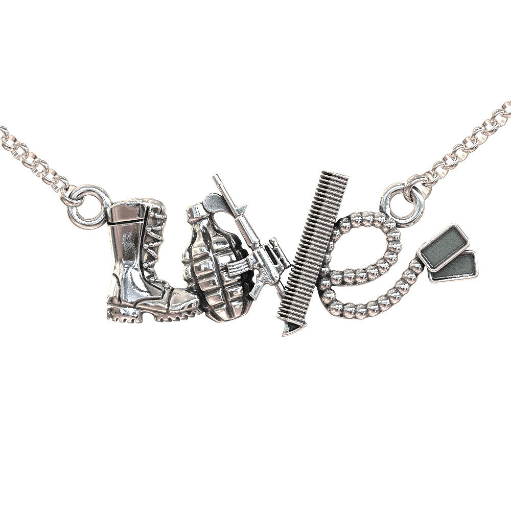 Love Soldier Necklace