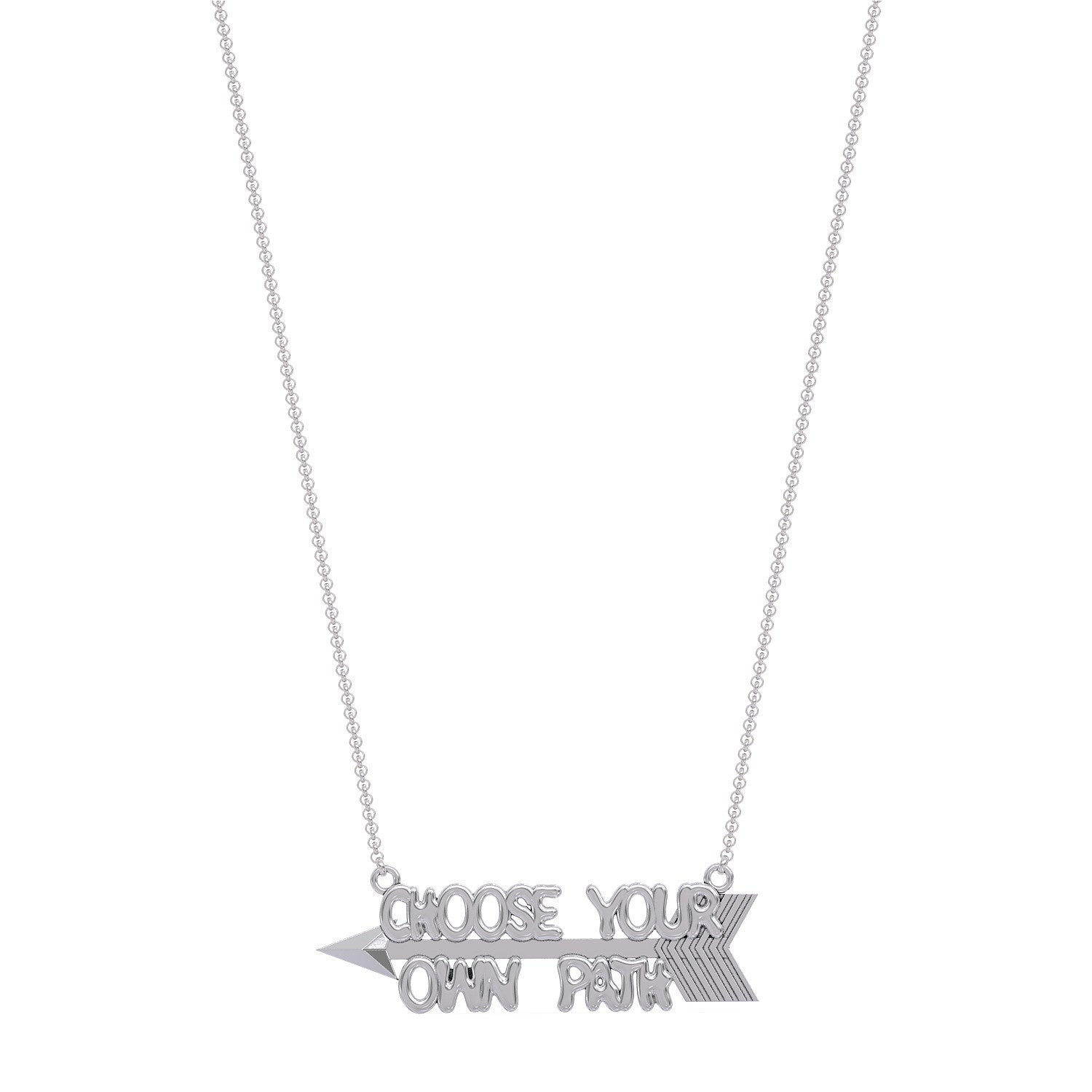 Choose Your Own Path Necklace