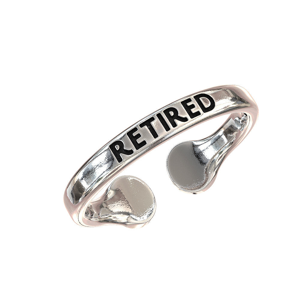 Retired Police Officer 10-42 Ring