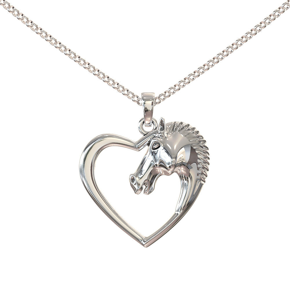Horse Back Riding Necklace