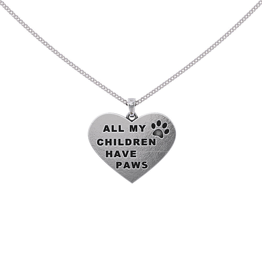 Children Have Paws Pendant