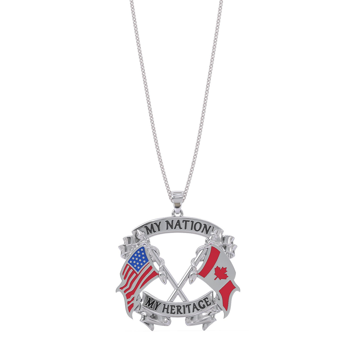 My Nation My Heritage Canadian Necklace