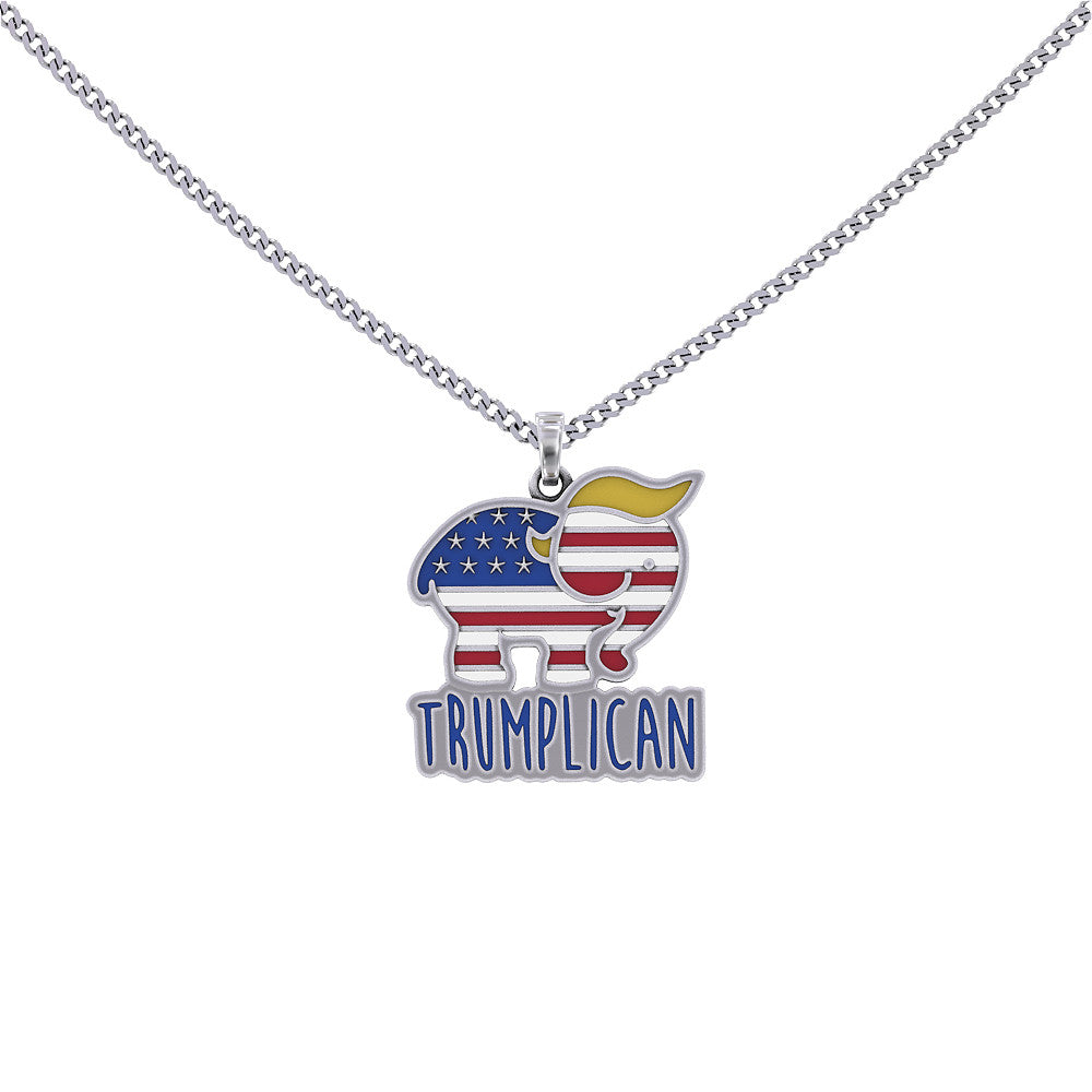 Trumplican Necklace