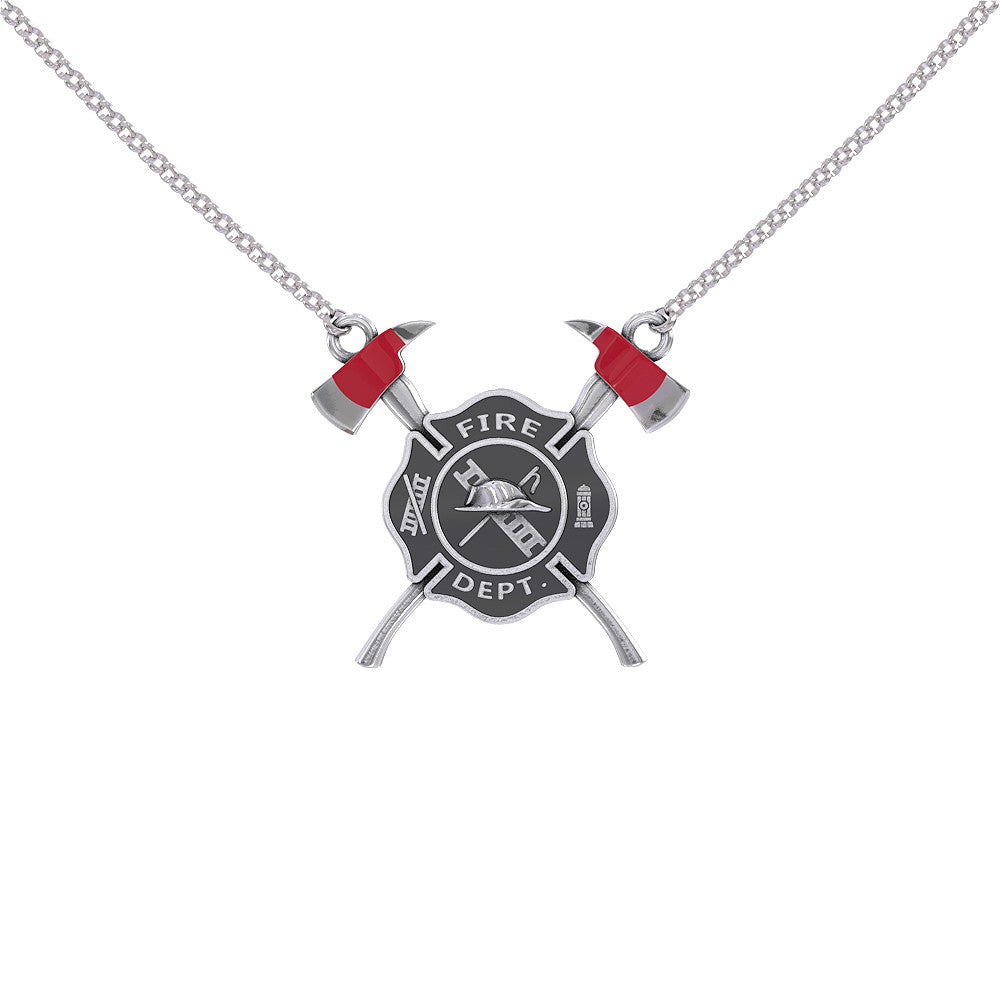 Fire Shield Necklace